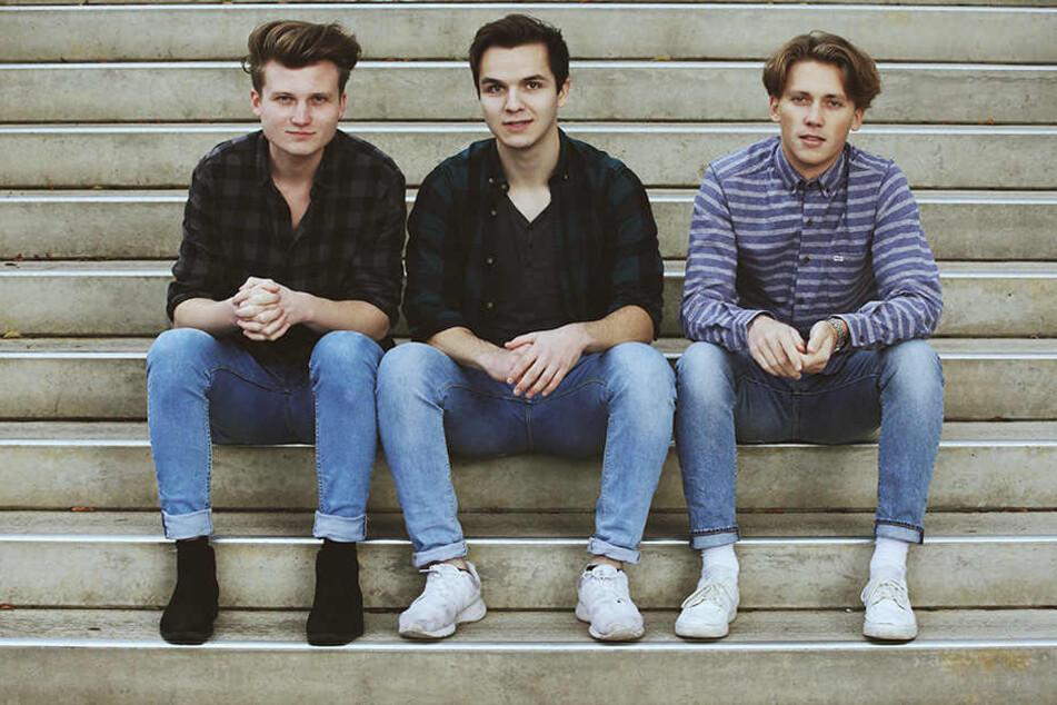 Am 9. Dezember feiern die drei Jungs ihre erste Release-Show.