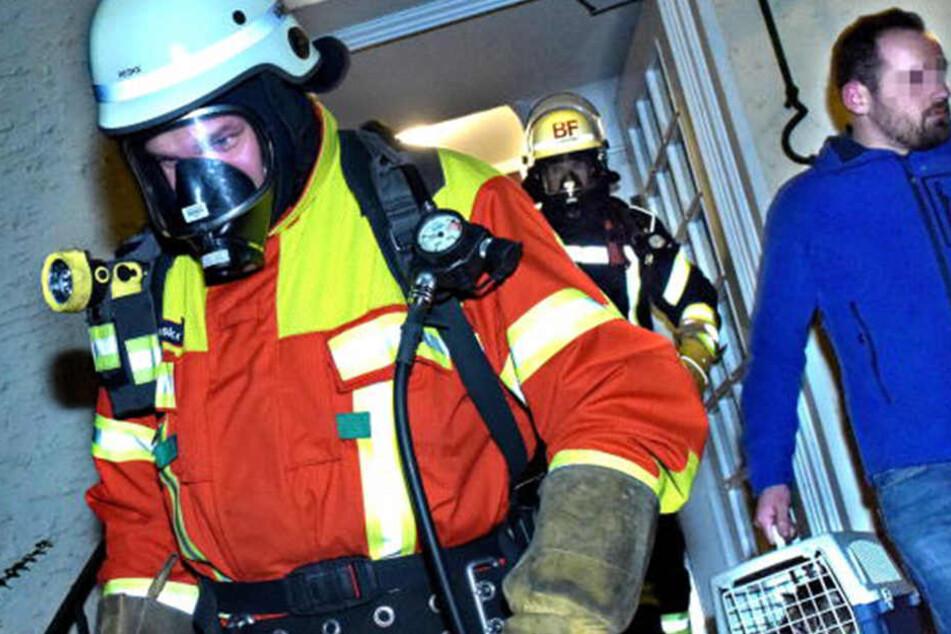 Familie durch tödliches Gas vergiftet