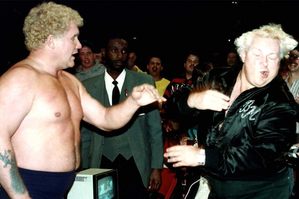 Harley Race (76) kämpfte jahrelang als Wrestler.