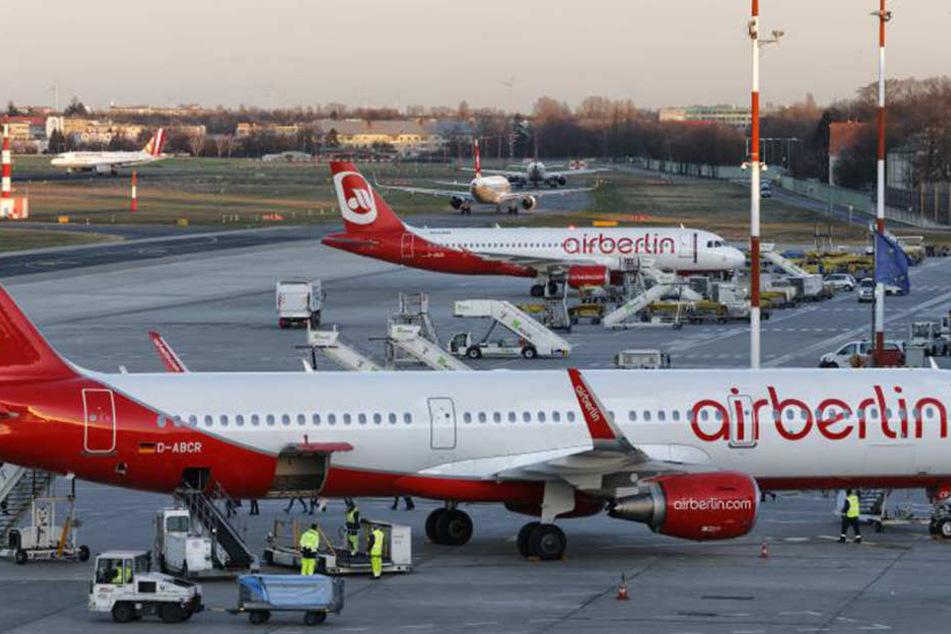 """Air Berlin streicht """"Palma de Mallorca"""" aus dem Anflug-Plan."""