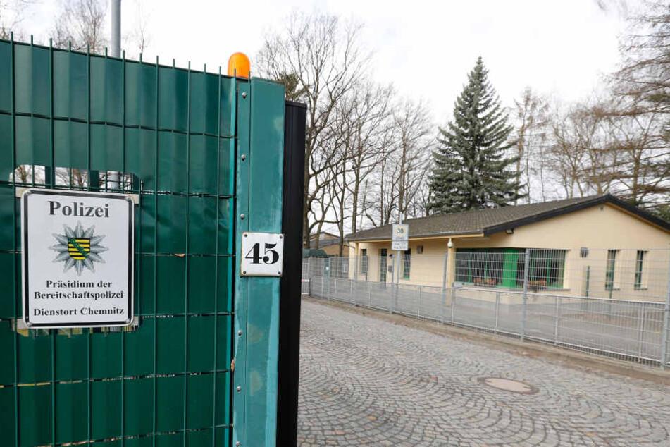 Auf diesem Gelände der Bereitschaftspolizei soll es zu der Sex-Attacke  gekommen sein.