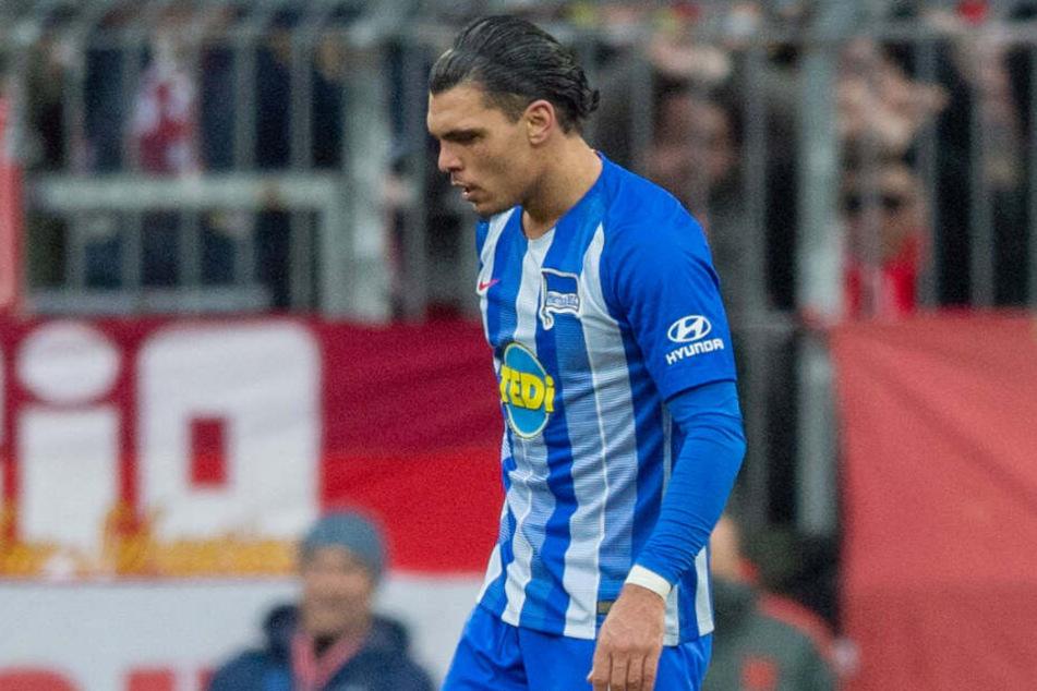 Für Rekik war es der erste Platzverweis bei Hertha.