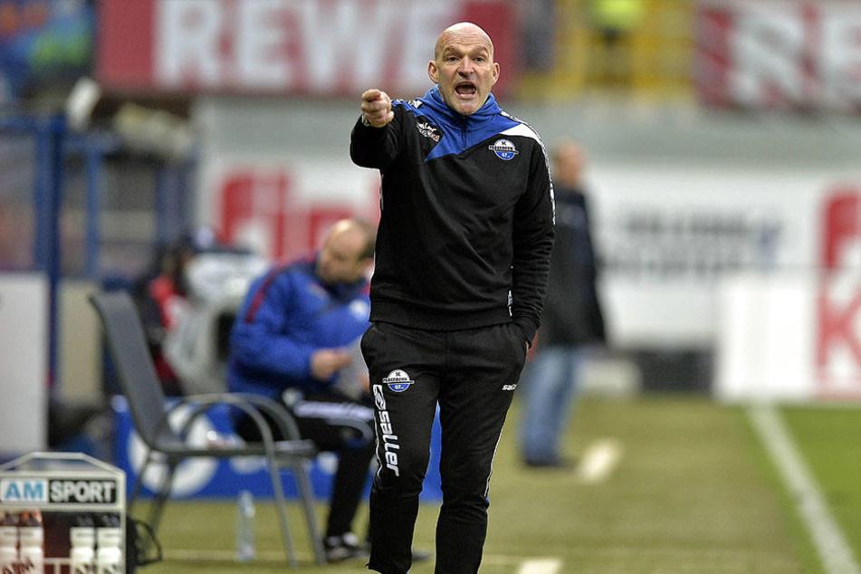 Cheftrainer Stefan Emmerling startet mit dem SCP in die Rückrunden-Vorbereitung.