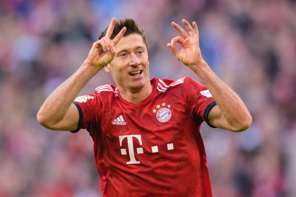 Der Vertrag von Robert Lewandowski (31) beim FC Bayern wurde bis 2023 verlängert.