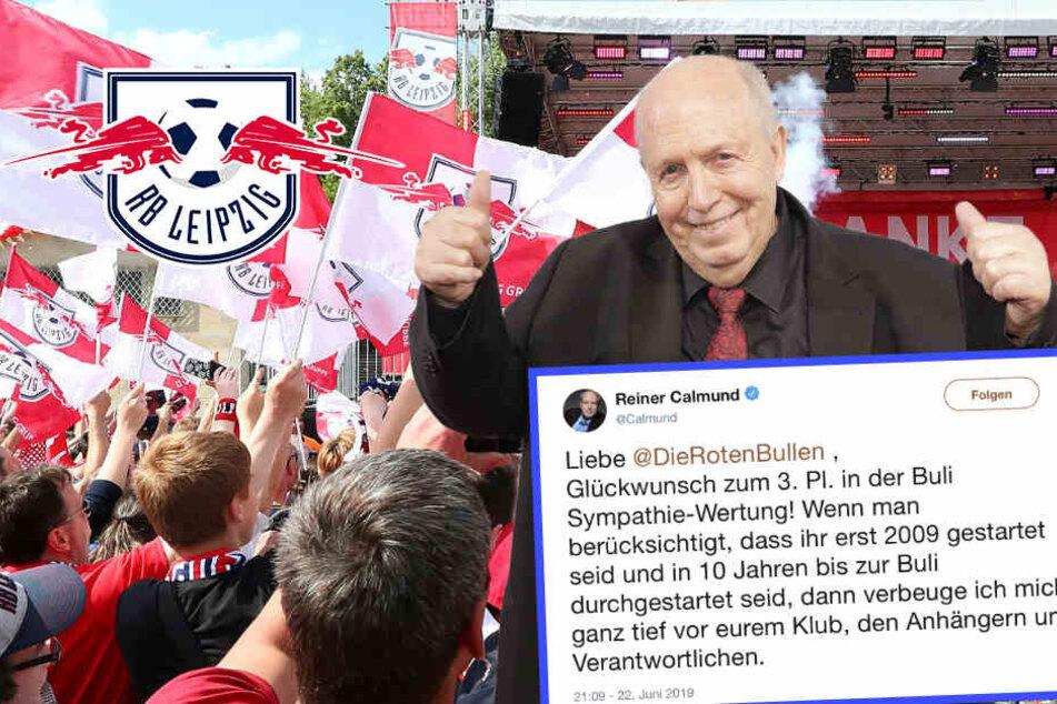 """""""Geh wieder ans Buffet!"""" Reiner Calmund erntet Shitstorm nach Post an RB Leipzig"""