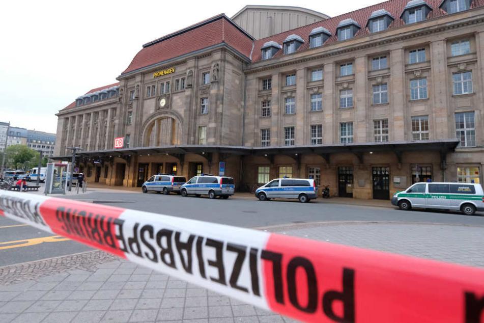 In der Nacht zu Sonntag kam es erneut zu einer Messerstecherei am Leipziger Hauptbahnhof. (Archivbild)