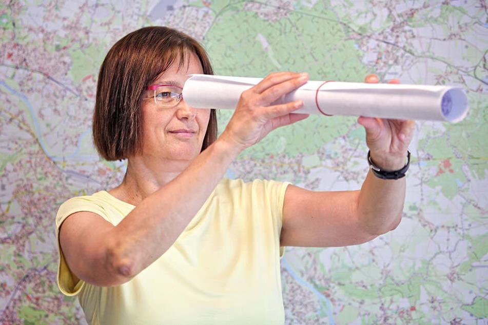 Auf der Suche nach neuen Straßennamen: Amtsleiterin Klara Töpfer (54) von der AG Straßennamen.
