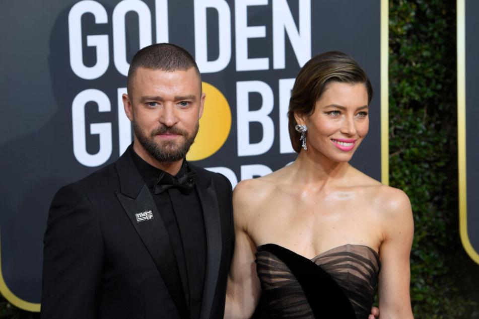 Timberlake und Biel bei den Golden Globes 2018.