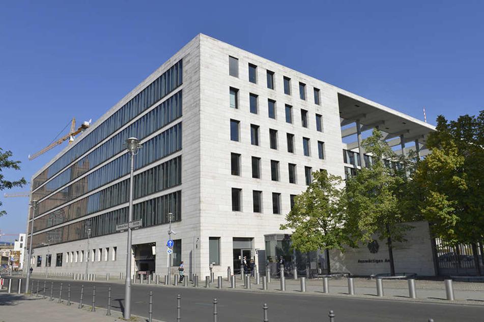 Das Auswärtige Amt in Berlin-Mitte.