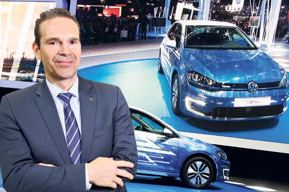 Ronald Gerschewski vom Sonderfahrzeugbauer Indikar aus Wilkau-Haßlau.