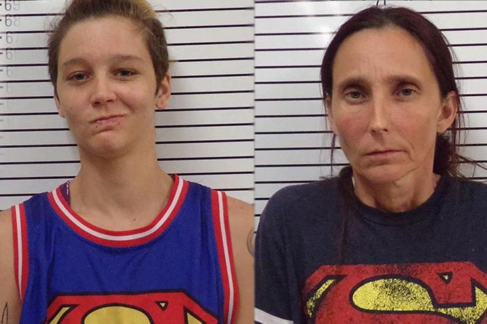 Misty S. (26) und ihre Mutter Patricia S. (46) wurden beide verhaftet.