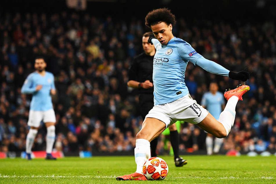 Ein Tor, drei Vorlagen: Leroy Sané machte ein überragendes Spiel für Manchester City.