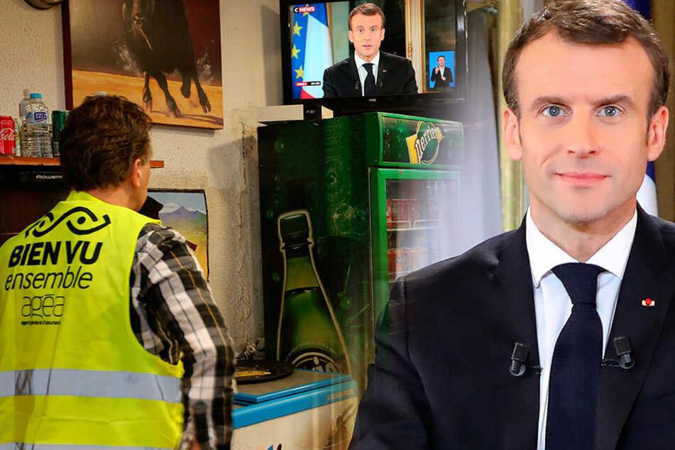 """Nach """"Gelber"""" Wut: Macron macht Geldgeschenke"""