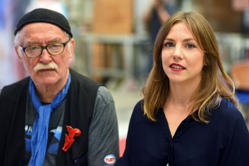 Die Lindenstraßen-Produzenten Hana Geißendörfer und Hans W. Geißendörfer.