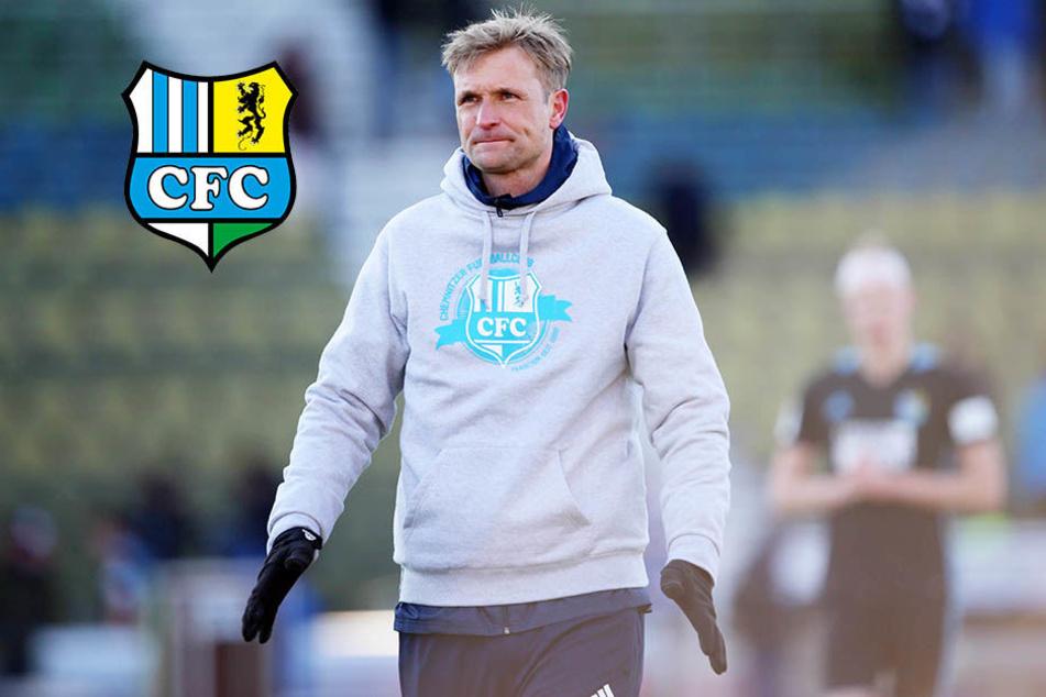 CFC-Coach Bergner gesteht fehlende Mittel ein
