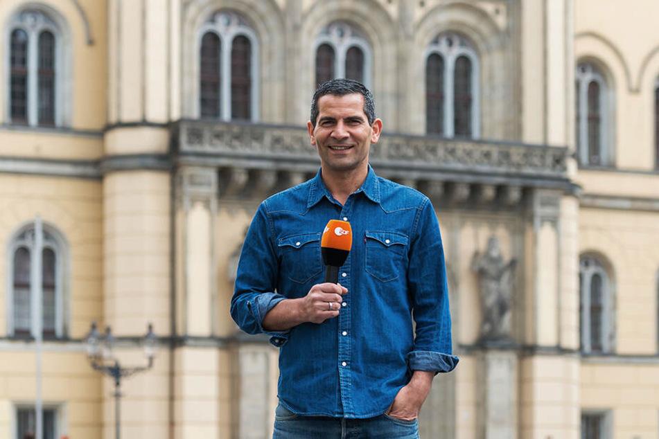 """ZDF-Morgenmann Mitri Sirin wird am Freitag im """"Moma vor Ort"""" aus Zittau berichten."""