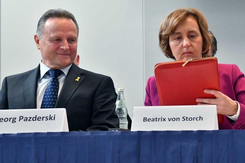 Georg Pazderski ist künftig der alleinige Vorsitzende der AfD Berlin.