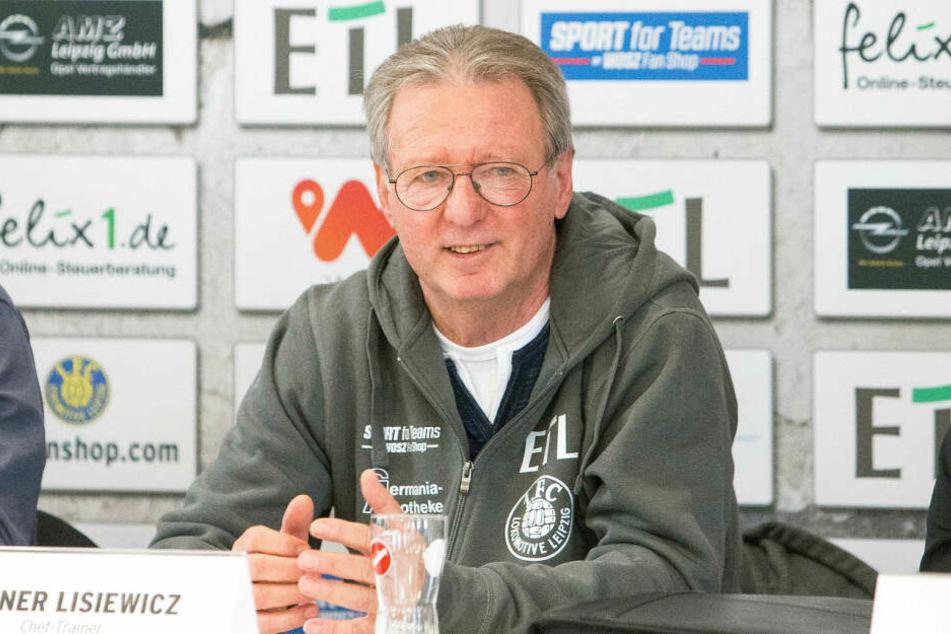 Lok Leipzigs neuer Cheftrainer und Klub-Urgestein Rainer Lisiewicz (69) feierte mit seiner Mannschaft direkt einen deutlichen 5:0-Erfolg über Union Fürstenwalde.