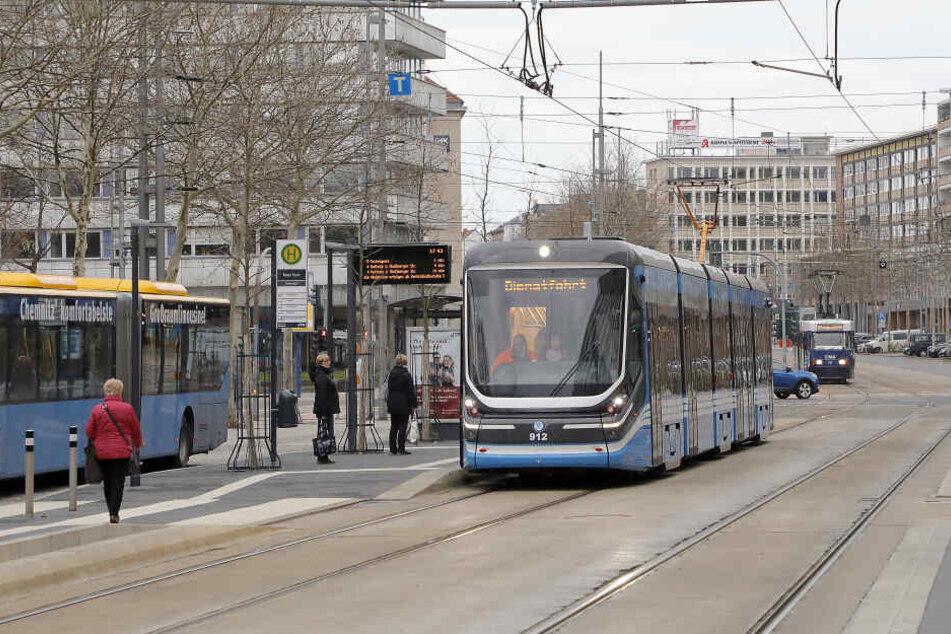 Insgesamt sollen bald 14 neue Bahnen durch Chemnitz rollen.