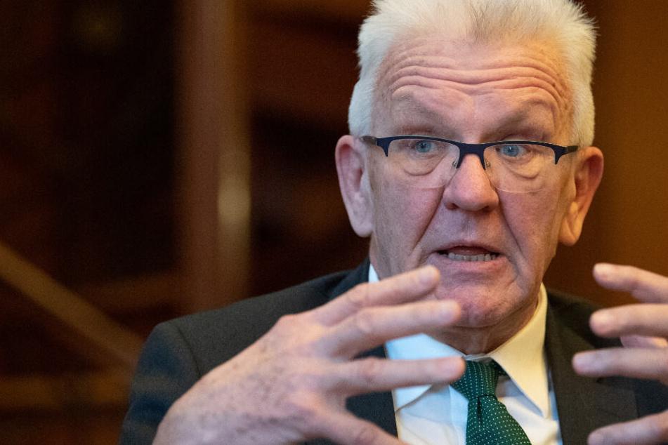 """Kretschmann über Wahlkampf gegen CDU: """"Wir sind ja kein Kindergarten"""""""
