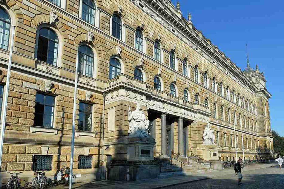 """Am Landgericht Dresden laufen derzeit vier Prozesse gegen die sogenannte """"Tschetschenen-Mafia""""."""