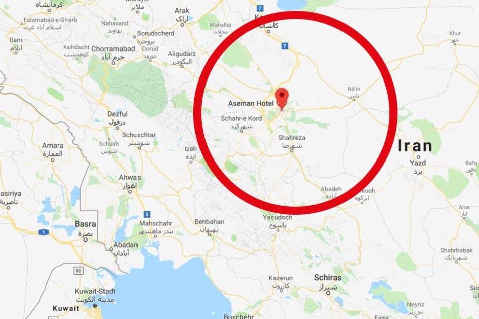 Flugzeugabsturz im Westen des Iran.