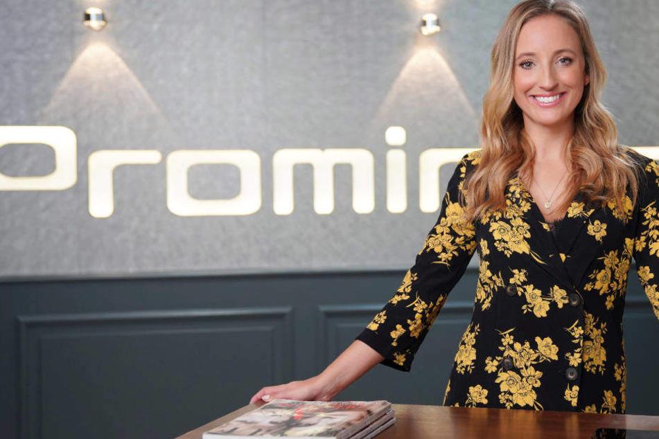 """Sie ist das neue Gesicht bei """"Prominent!"""": Laura Dahm moderiert Promi-Magazin"""
