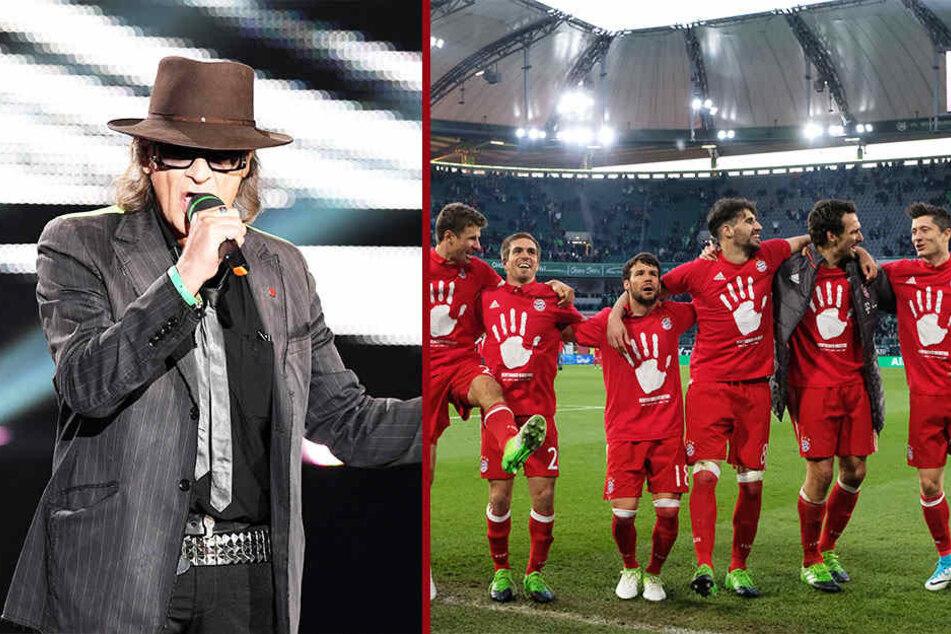 Kult-Musiker Udo Lindenberg und auch die Mannschaft des FC Bayern München residieren am Wochenende in Leipzig.
