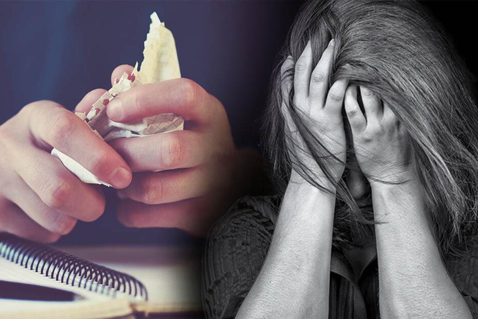 Trauriger Abschiedsbrief gefunden! Mutter greift ihre Kinder mit Messer an, ein Sohn (8) stirbt