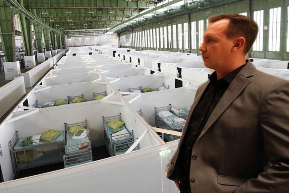 Der AfD-Abgeordnete Karsten Woldeit deckte mit seiner Anfrage die Geldverschwendung in Reinickendorf auf. (Fotomontage)