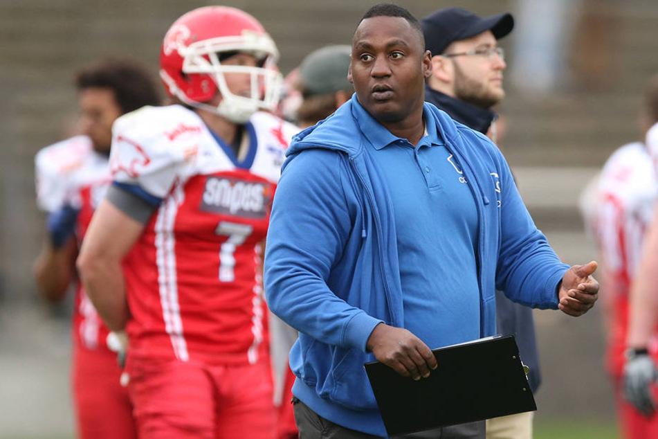 In Zukunft hält Willie James Robinson Jr. (38), an der Seitelinie der Bulldogs, das Heft in der Hand.