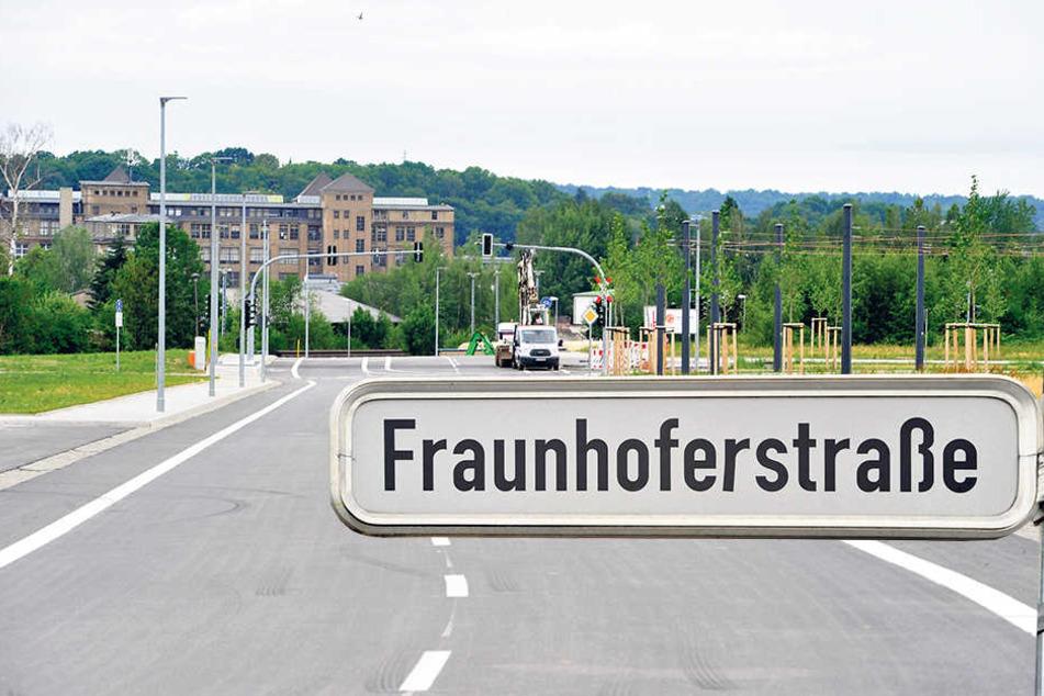 Eine Dauerbaustelle geht zu Ende. Die Fraunhoferstraße wird am Mittwoch  eröffnet.