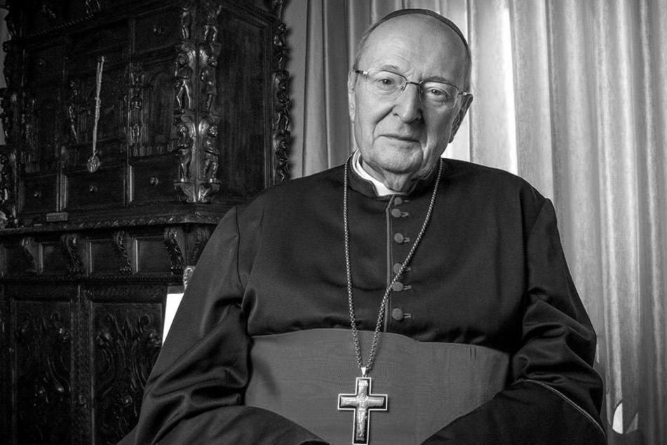 Erzbischoff Joachim Kardinal Meisner verstarb im Alter von 83 Jahren.