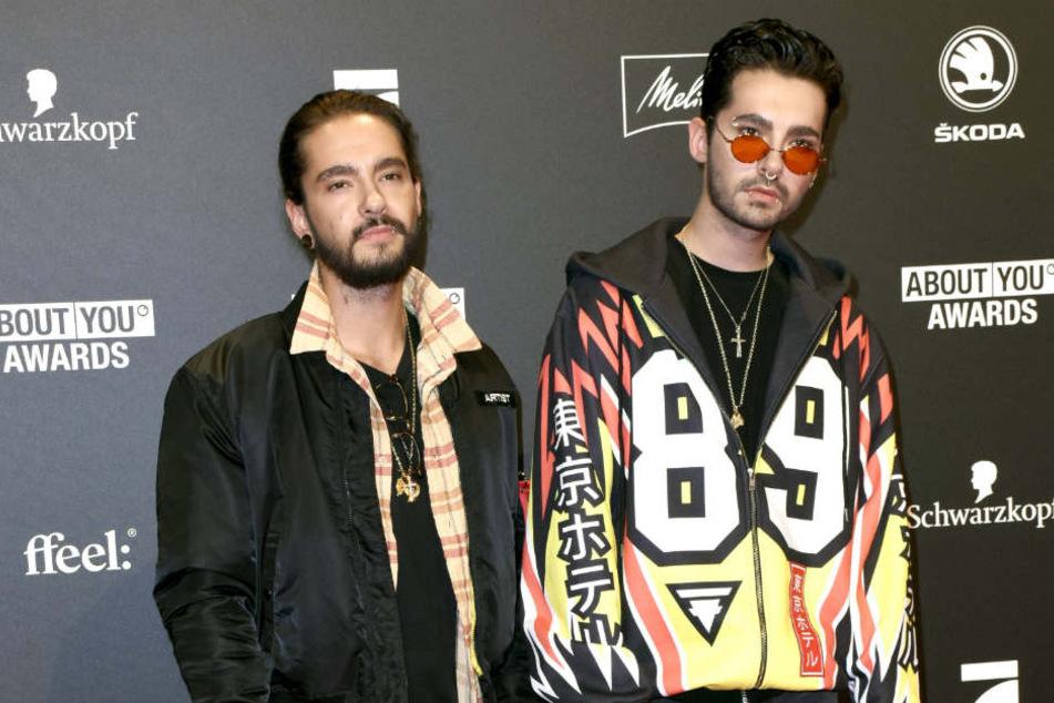 Auch mit Bill Kaulitz' (28, r.) Zwillingsbruder Tom soll er das Topmodel verkuppelt haben.