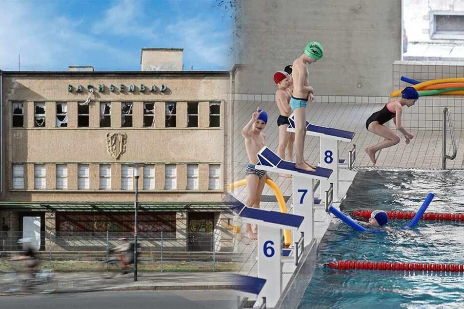 Streit um Dresdens Planschtempel entbrannt: Wer kriegt die neue Schwimmhalle?