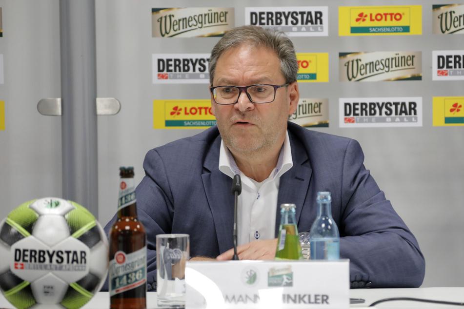 Sachsens Fußball-Boss Hermann Winkler.