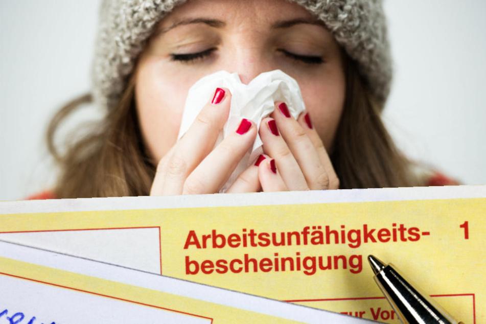 Am Montag sind immer alle krank? So sieht's wirklich bei den Arbeitnehmern aus