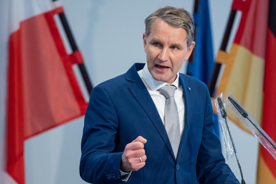 Thüringens AfD-Landespartei- und Fraktionschef Björn Höcke (48) kann sich eine Spitzenkandidatur bei der kommenden Landtagswahl vorstellen.