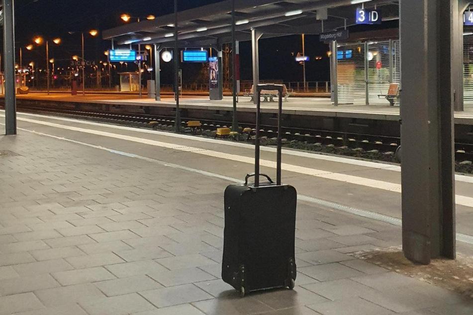 Dieser Koffer sorgte für einen Einsatz der Bundespolizei am Magdeburger Hauptbahnhof.