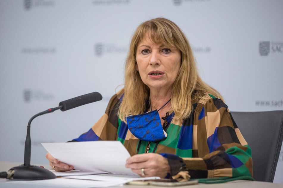 Sachsens Gesundheitsministerin Petra Köpping (62).