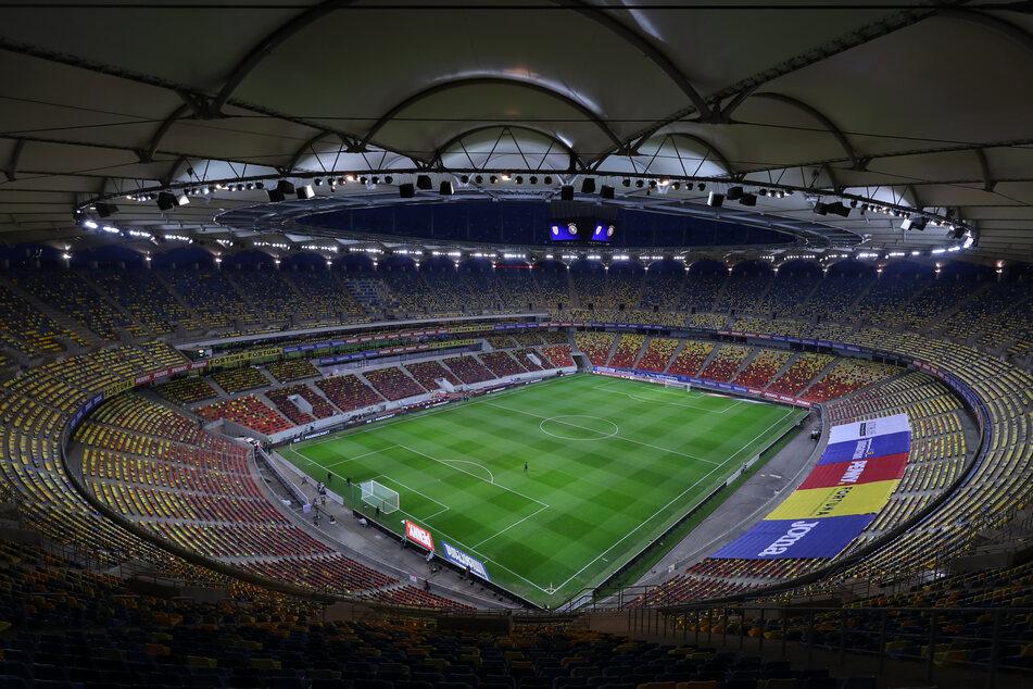 Die Arena Nationala in Bukarest.