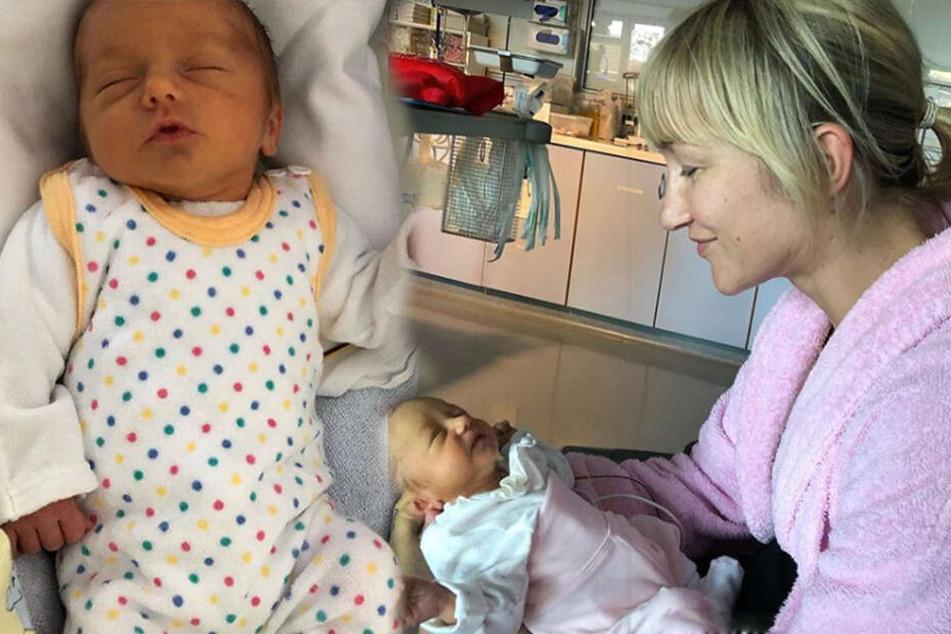 Die kleine Amilia kam im September sechs Wochen zu früh auf die Welt.