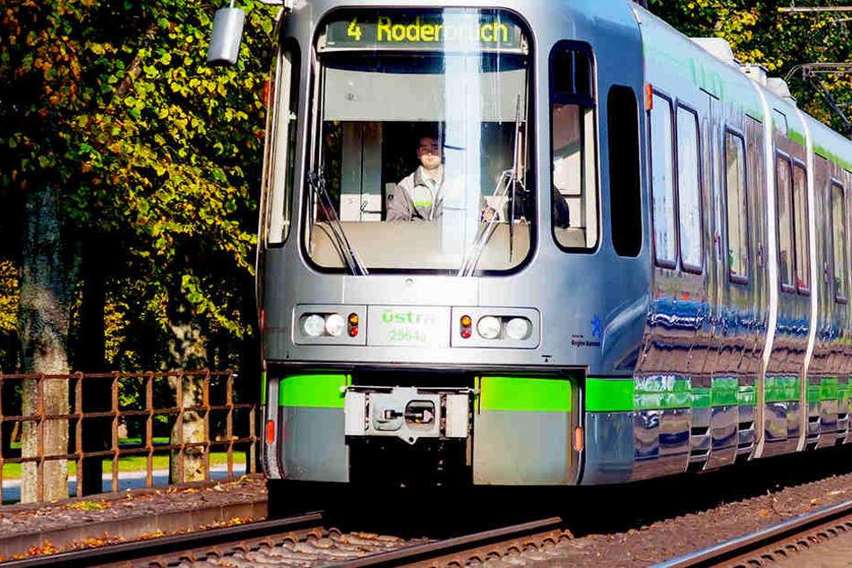 Der kleine Hund wurde von der Hannoveraner Straßenbahn 50 Meter weit durchs Gleisbett geschleift.