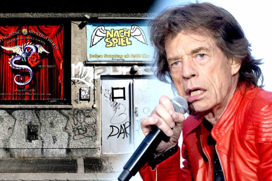 Echt jetzt? Mick Jagger feiert in Berliner Sex-Club!