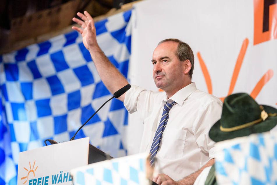 """""""Kifferpartei"""": Freie-Wähler-Chef Aiwanger attackiert die Grünen scharf"""