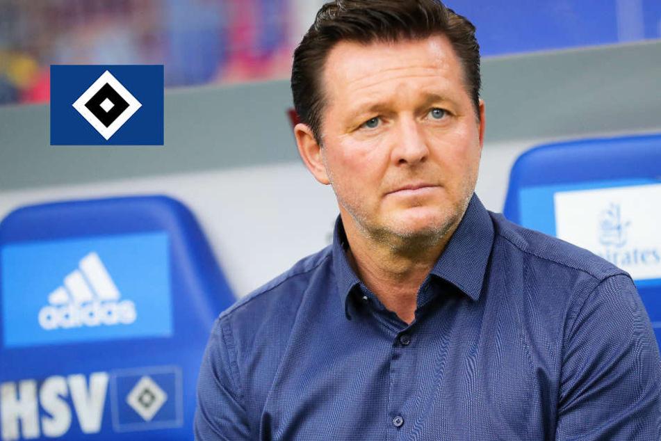 Nach Spielabsage in Dresden: HSV-Trainer Titz sorgt sich um die Gesellschaft