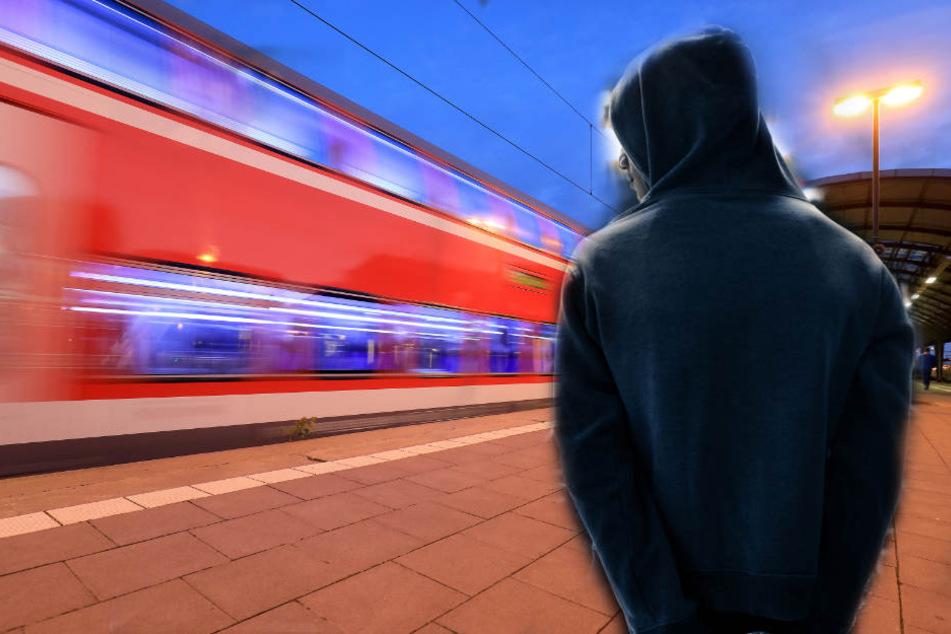 Kurden-Demo? Neun Männer klettern auf Gleise, Zug muss SchnellBremsung hinlegen