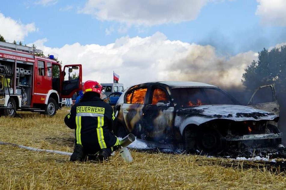 Die Feuerwehr hat den Brand zum Glück schnell unter Kontrolle gehabt.