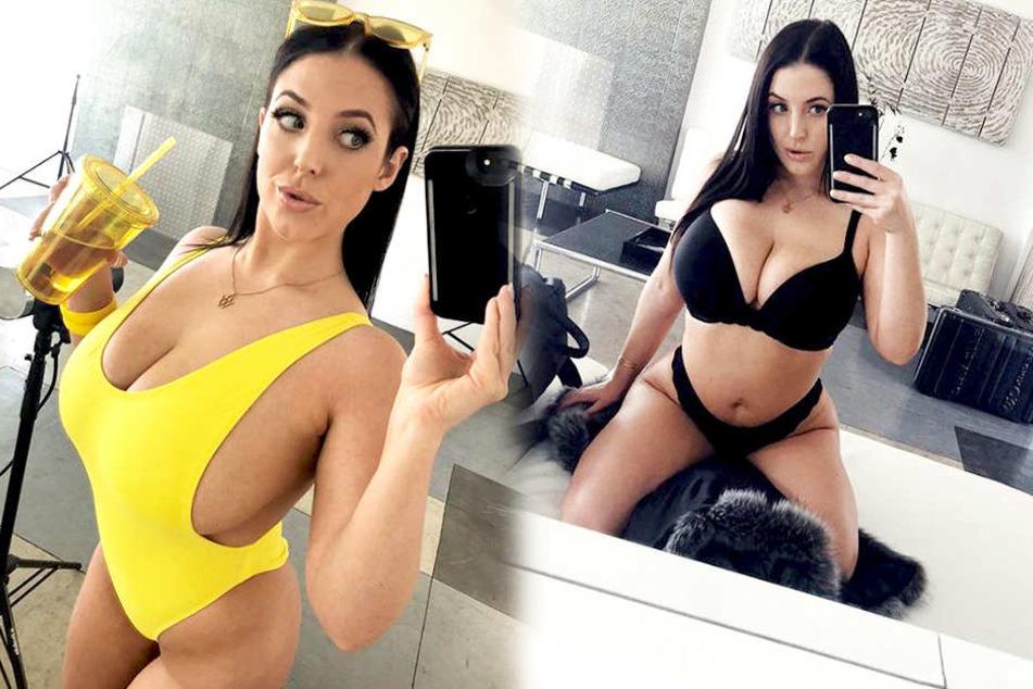 Angela White (33) fühlte sich bereits in ihrer Teenagerzeit von der Erotik-Branche angezogen.