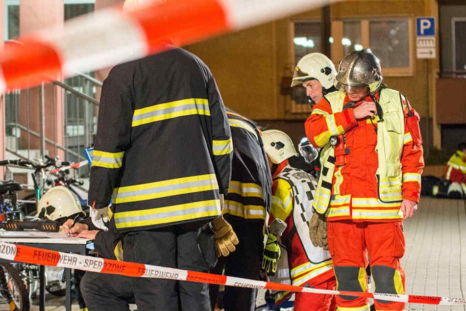 12 Verletzte: Gefahrguteinsatz in Erfurter Wohngebiet